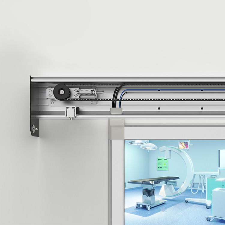 To improve Mobility and Infection Control Soundproof Automatic Hermetic Door