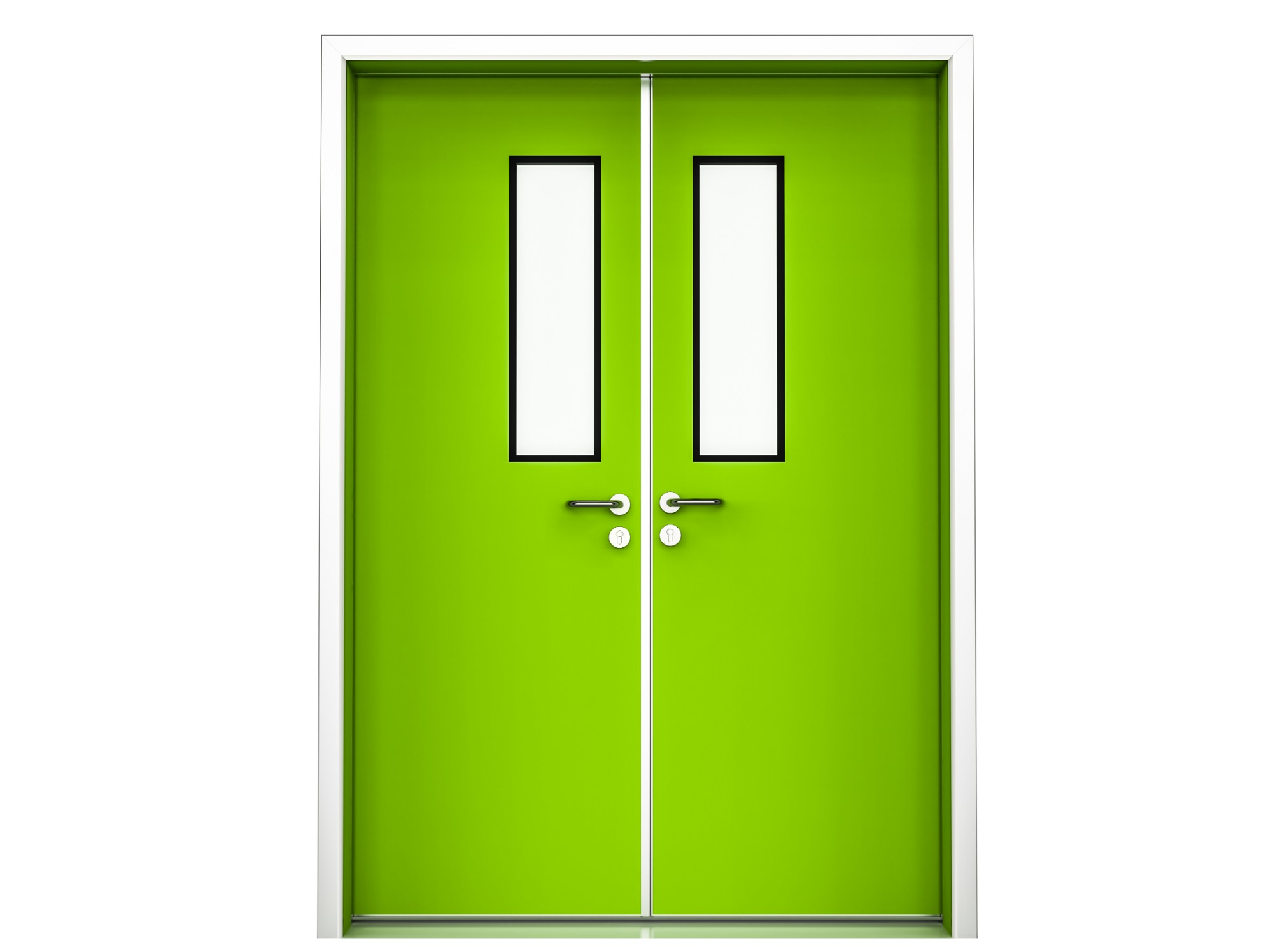 Fire rated Steel Doors for medical buildings and hospitals
