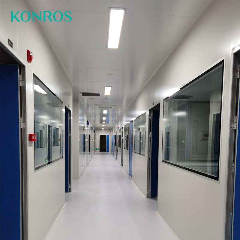 Hygienic Observations Windows for Clean room system