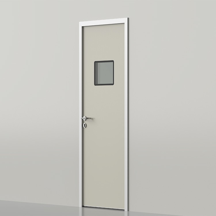 unequal double lead door for hospital / medical  / lab / cleanroom project